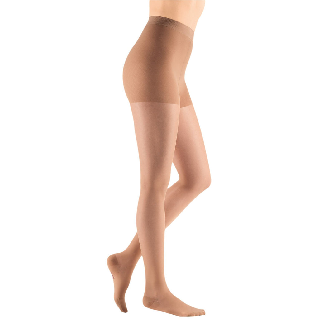 Mediven Sheer & Soft Women's 15-20 mmHg Maternity Pantyhose, Natural