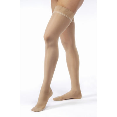 Jobst UltraSheer Women's 8-15 mmHg Thigh High