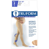 Truform Women's 20-30 mmHg Maternity Pantyhose