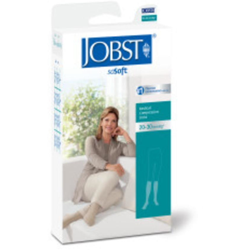 Jobst soSoft Women's 20-30 mmHg Ribbed Knee High
