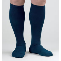 Activa Men's Dress 15-20 mmHg Knee High, Navy