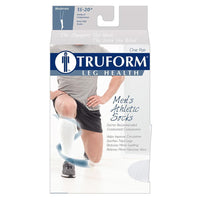 Truform Men's Athletic 15-20 mmHg Knee High