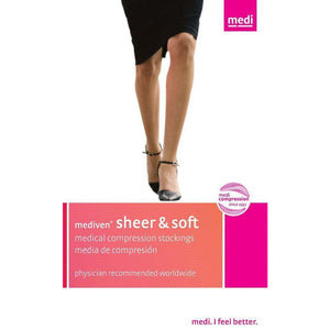 Mediven Sheer & Soft Women's 20-30 mmHg Knee High