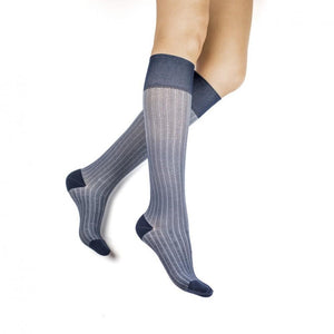 Rejuva Herringbone 20-30 mmHg Compression Socks