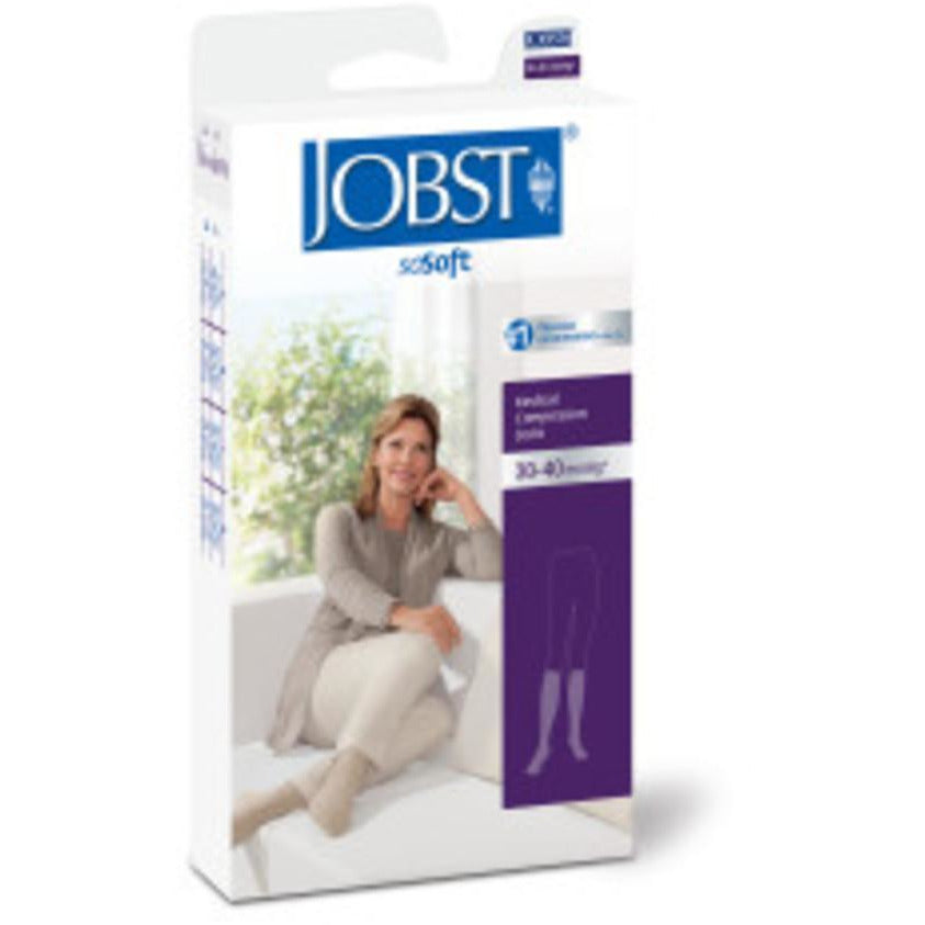 Jobst soSoft Women's 30-40 mmHg Brocade Knee High