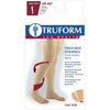 Truform 30-40 mmHg OPEN-TOE Thigh High w/ Silicone Dot