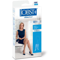 Jobst UltraSheer Women's 15-20 mmHg Diamond Knee High