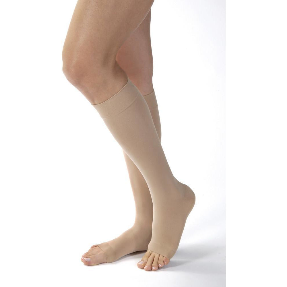 Jobst Opaque SoftFit Women's 20-30 mmHg OPEN TOE Knee High
