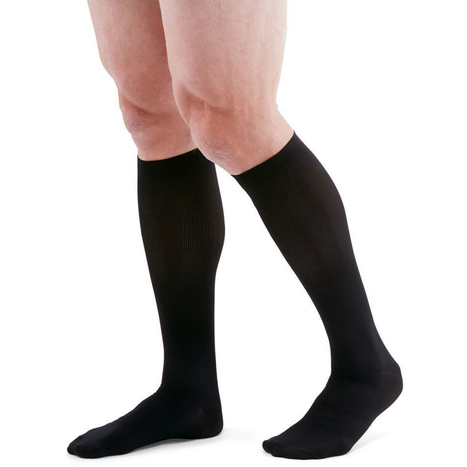 Mediven for Men 30-40 mmHg Knee High, Black