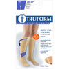 Truform 20-30 mmHg Knee High W/ Silicone Dot Top