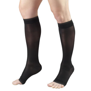 Truform Lites Women's OPEN-TOE Knee High 15-20 mmHg