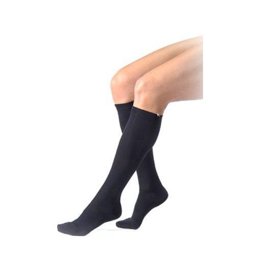 Activa Women's Microfiber Dress 20-30 mmHg Knee High, Black