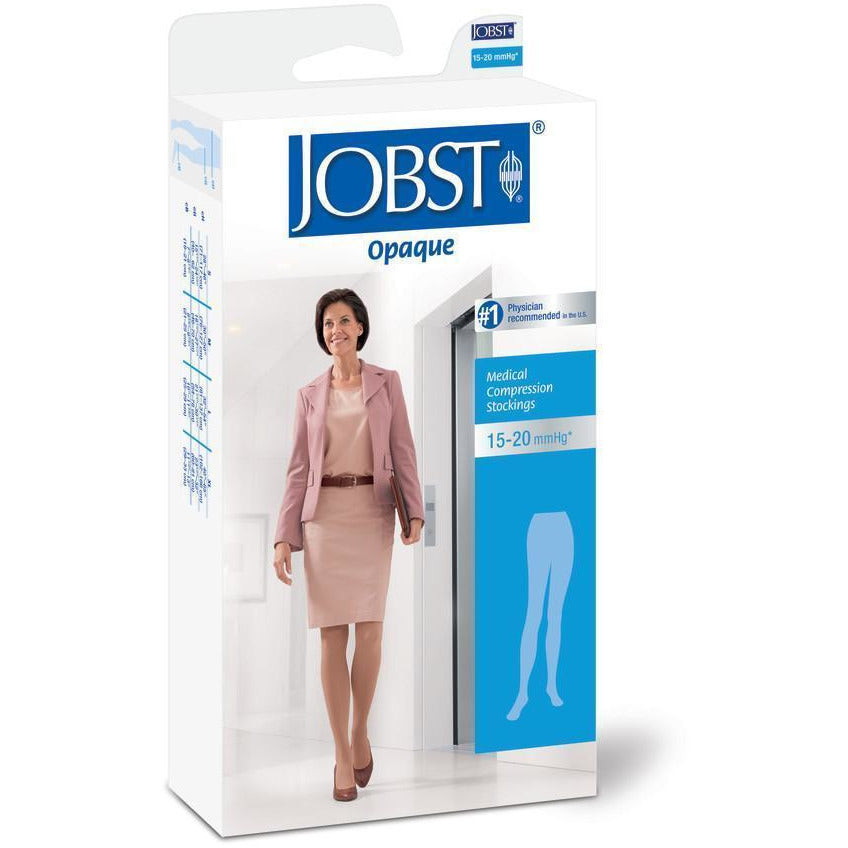 Jobst Opaque Women's 15-20 mmHg Waist High