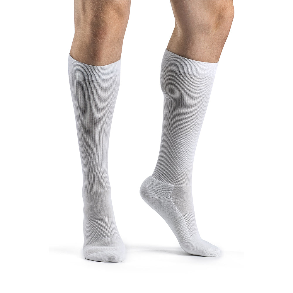 Sigvaris 182 Cushioned Cotton Men's 15-20mmHg Knee High Socks