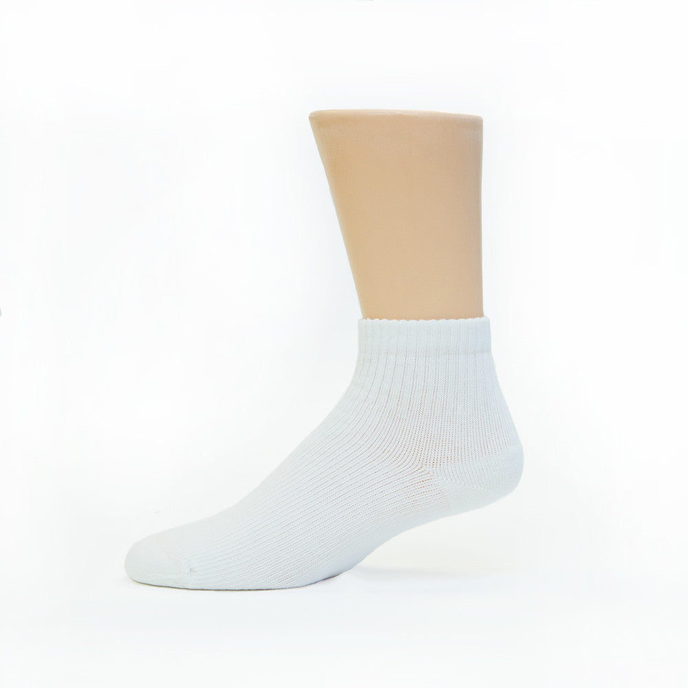 Actifi Truly Soft 8-15 mmHg Diabetic Mini-Crew Socks