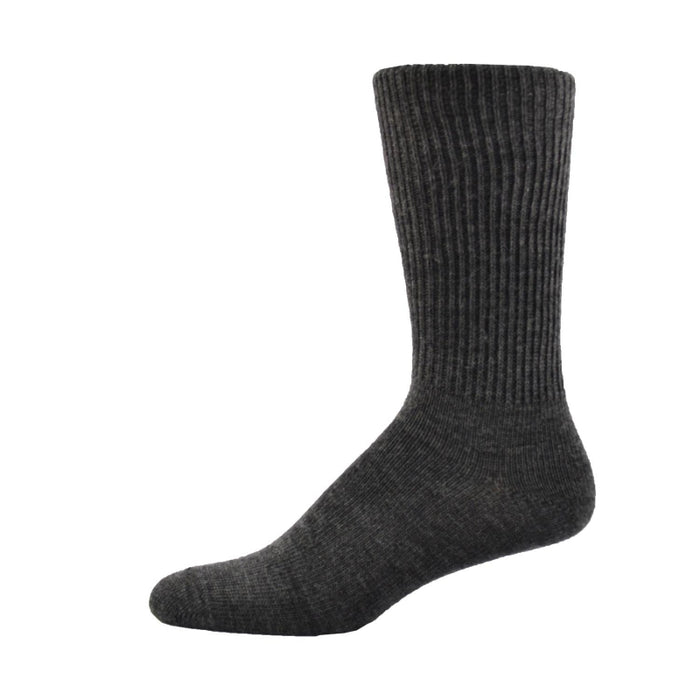 Simcan Comfort Merino Wool Mid-Calf Socks, Charcoal