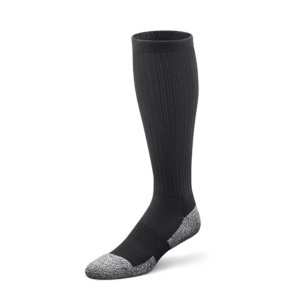 Dr. Comfort Diabetic 15-20 mmHg Knee High Support Socks, Black