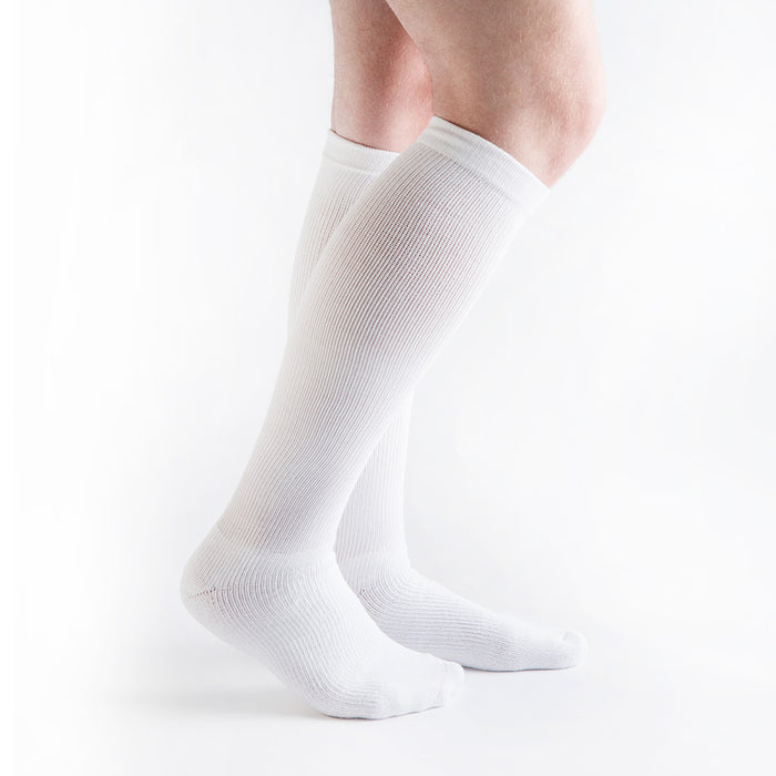 VenActive Diabetic 15-20 mmHg Compression Socks, White