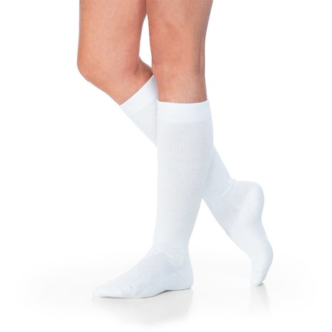 Sigvaris 160 Eversoft Diabetic 8-15 mmHg Knee High Compression Socks