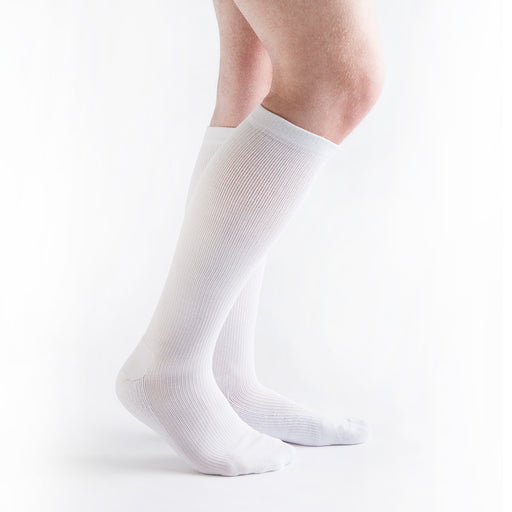 VenActive Hydrotec Comfort Knee High Diabetic Socks, White
