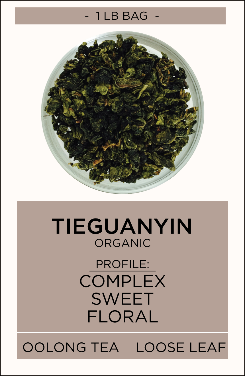 Tieguanyin Oolong Loose Leaf Tea - Equator Coffees and Teas