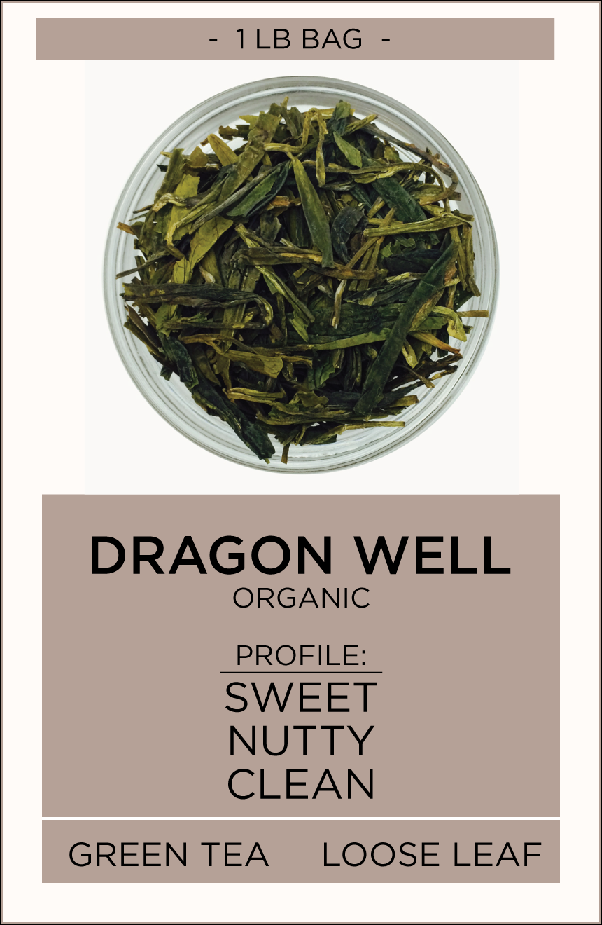 Dragon Well Loose Leaf Tea - Equator Coffees and Teas