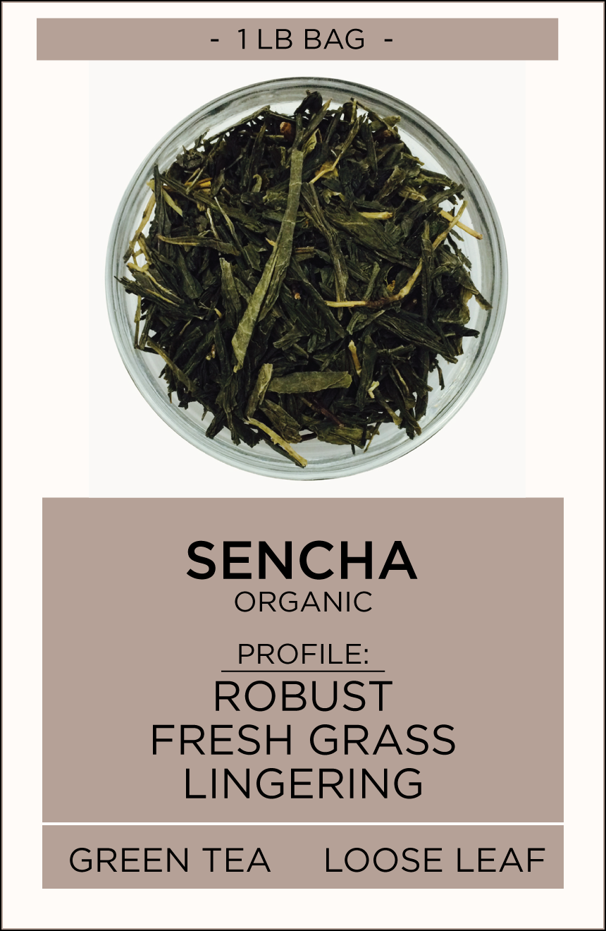 Sencha Loose Leaf Tea - Equator Coffees and Teas