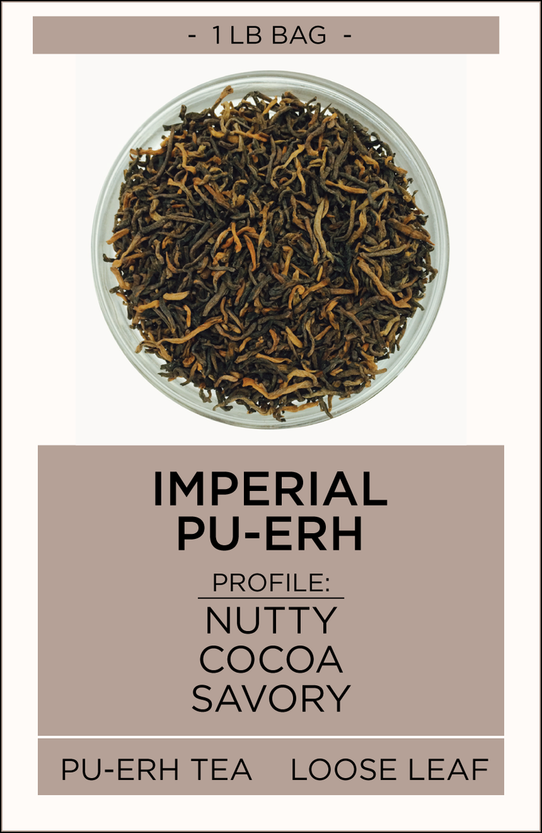 Imperial Leaf Pu-erh Loose Leaf Tea