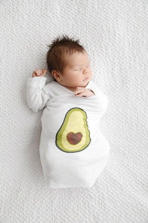 Let's Avocuddle Swaddle - Baby Sleeps Here