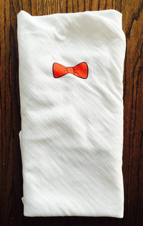 Put A Bow Tie On It Swaddle - Baby Sleeps Here
