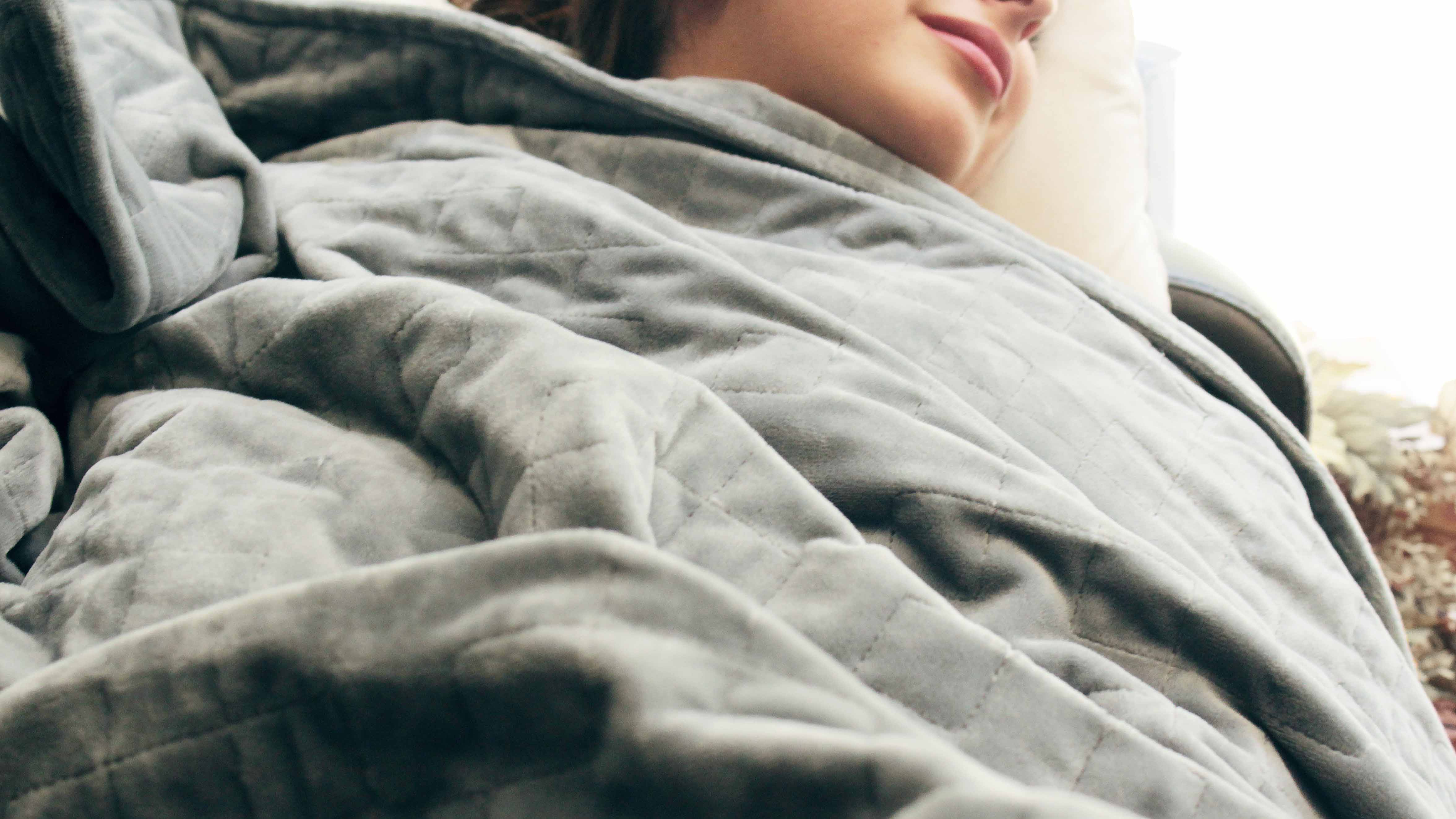 Best Weighted Blanket For Anxiety Stress And Sleep