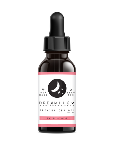 Premium Broad-Spectrum CBD Oil Tincture - DreamHug™ Weight Blanket