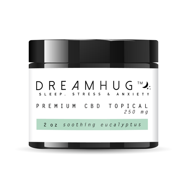 Premium CBD Topical - Soothing Eucalyptus - DreamHug™ Weight Blanket
