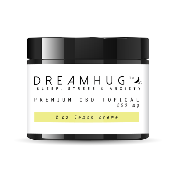 Premium CBD Topical - Lemon Creme - DreamHug™ Weight Blanket