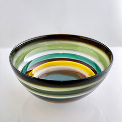 modern earth tone bowl