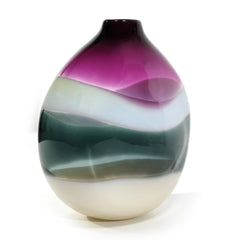 purple home decor - handblown glass by Siemon & Salazar