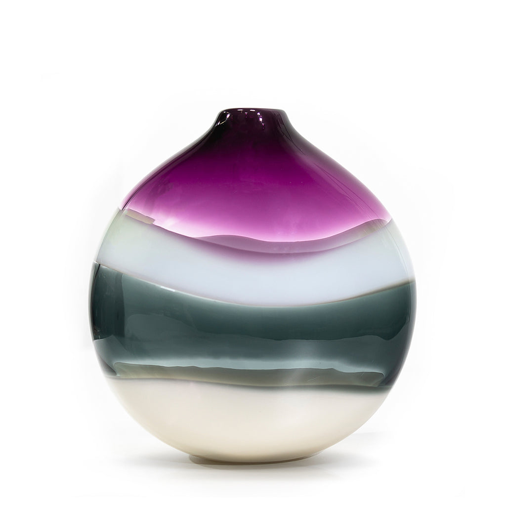 Designer Glass Vase by Siemon & Salazar