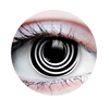 PRIMAL® HYPNOTIZED Halloween Costume Contact Lenses- close up
