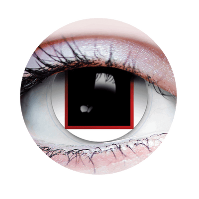 Black Box - Halloween Costume Contact Lens - Close Up