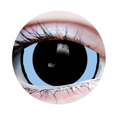 Mini Sclera-Pink-Acid3-Halloween Costume Contact Lens-Close Up