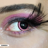 Mini Sclera-Pink-Acid1-Halloween Costume Contact Lens-Side picture