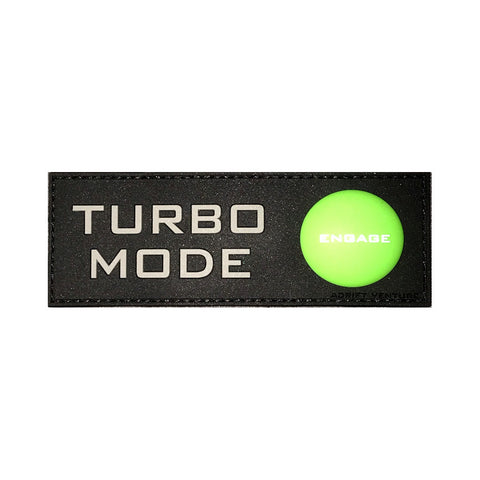 Adrift Venture Turbo Mode PVC Morale Patch - Adrift Venture