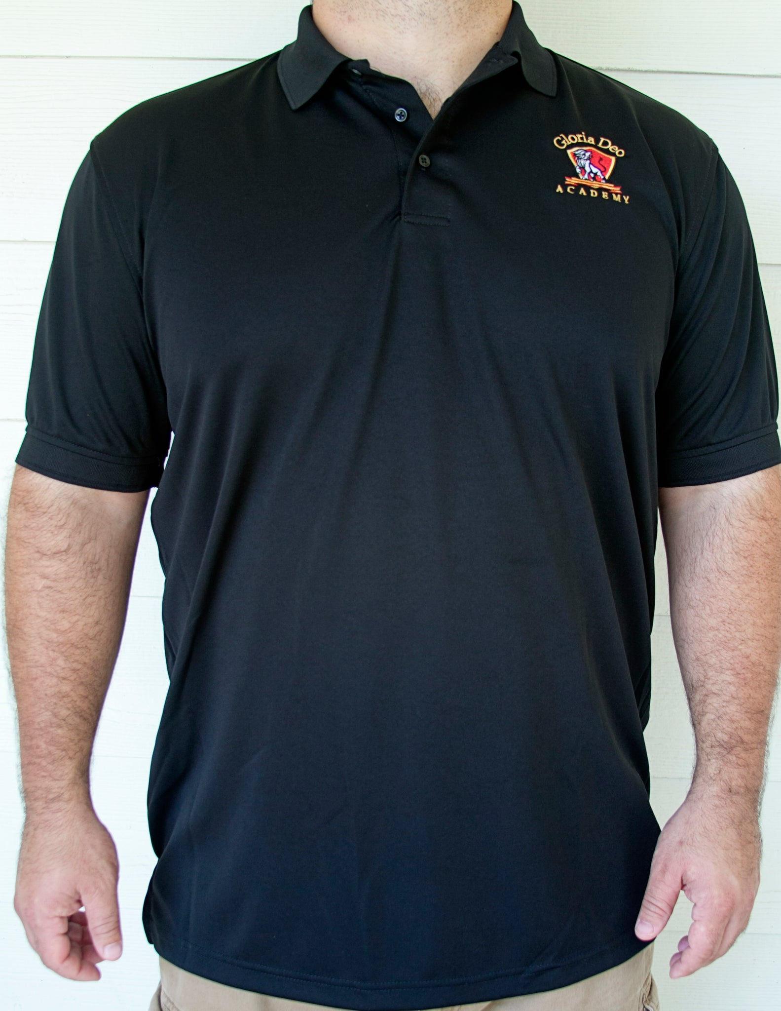 MENS Athletic Polo (Black)
