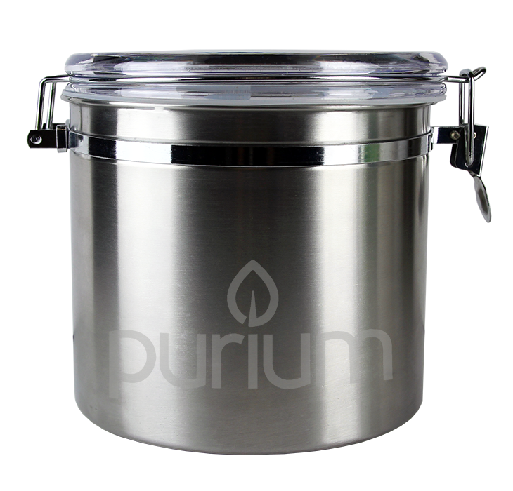 Kitchen Canister   Stainless Steel   NEW! U2013 Purium