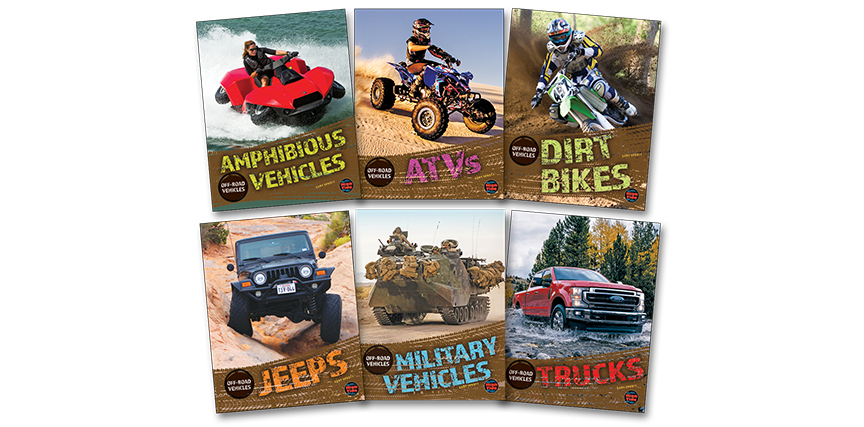 Off-Road Vehicles - School Library Journal - November 2019