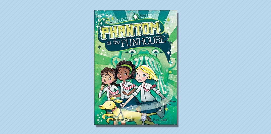 Phantom at the Funhouse - Booklist Review September 2017