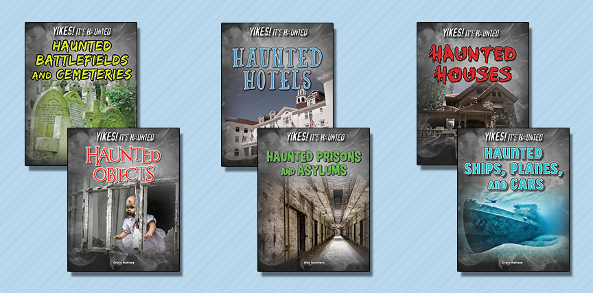 YIKES! It's Haunted - SLJ November 2016 Review