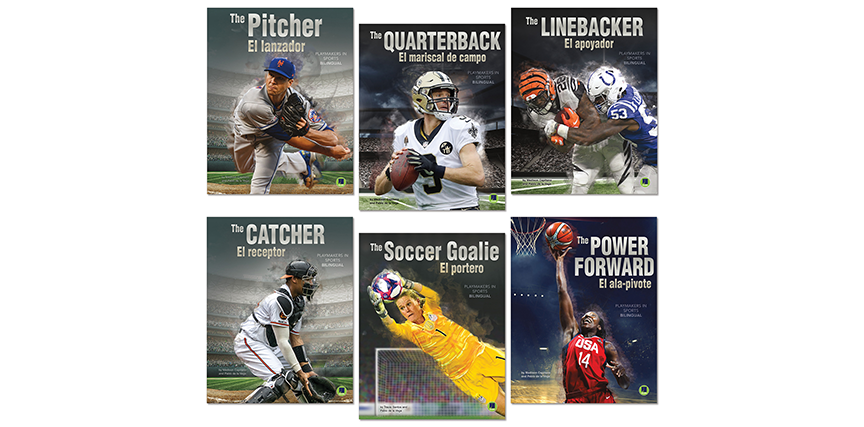 Playmakers in Sports - School Library Journal - April 2020