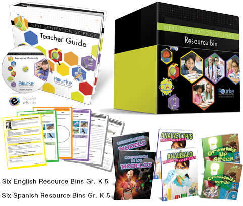 Next Generation Science Bins - Dual Language Image