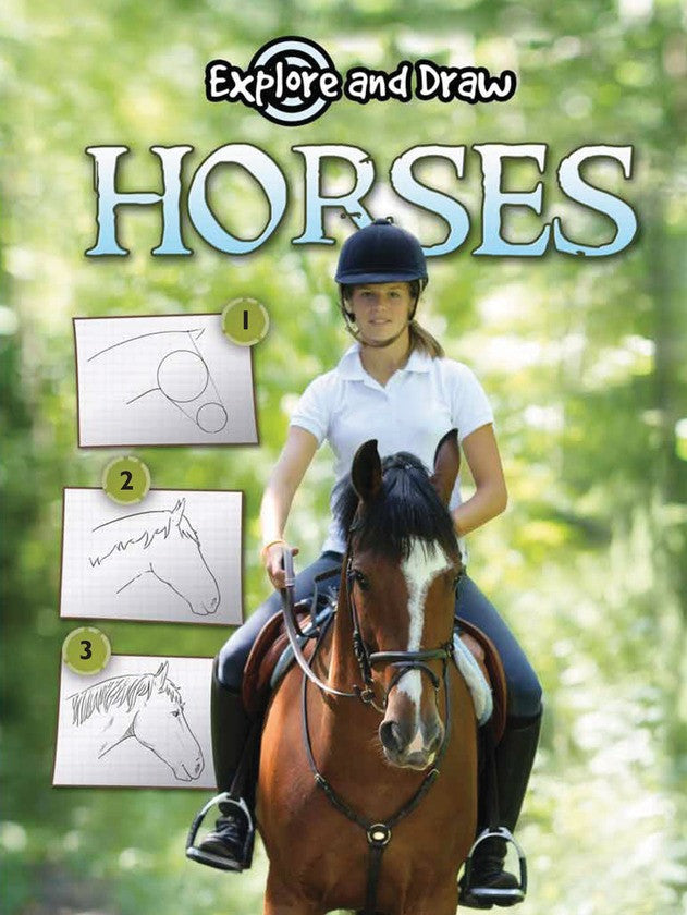 2010 - Horses, Drawing and Reading (eBook)
